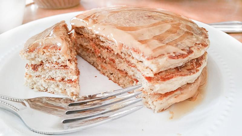 Gluten Free Fluffy Protein Pancakes