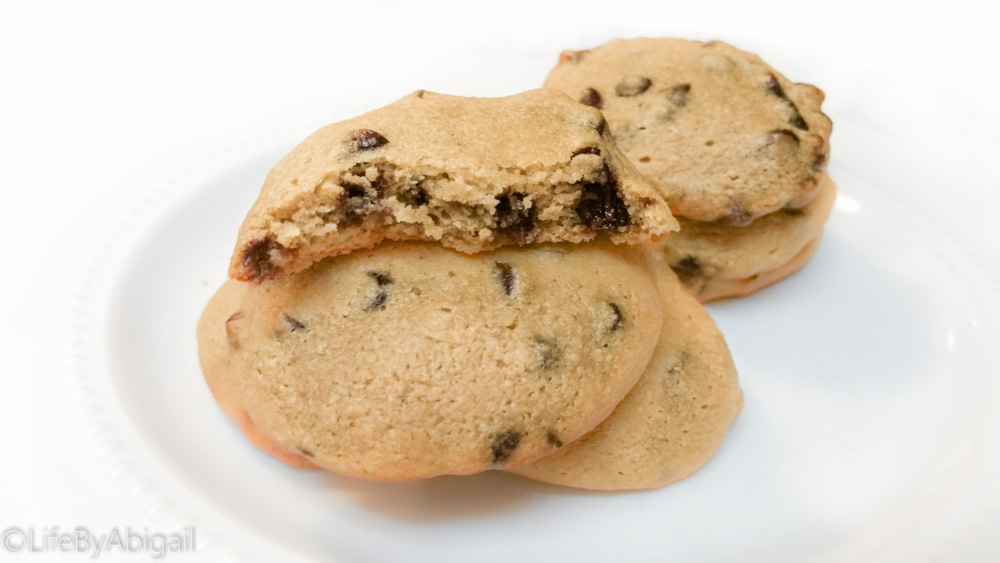 Healthy Chocolate Chip Protein Cookies for Two