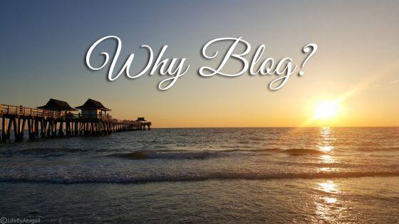 Why Blog1
