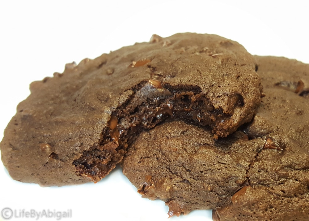 Double Chocolate Protein Cookies for Two