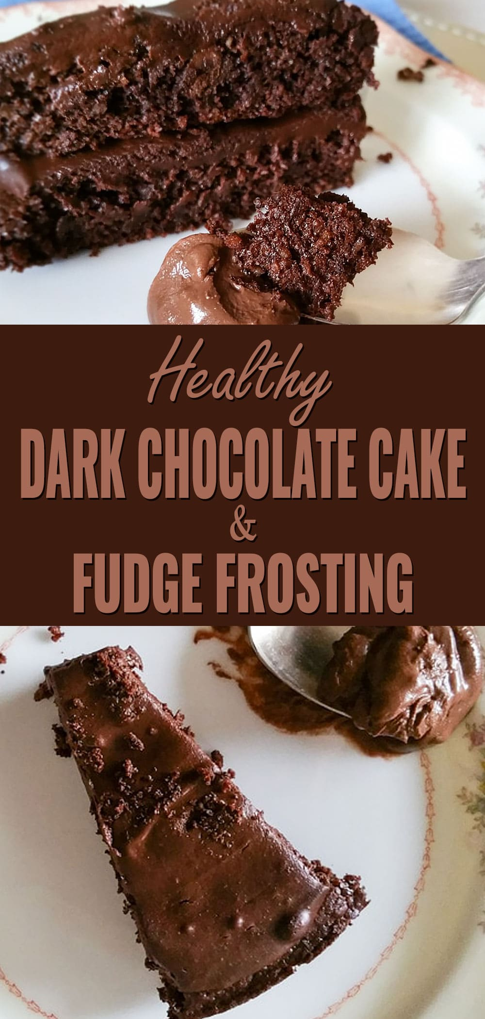 Gluten Free Double Chocolate Coffee Fudge Cake