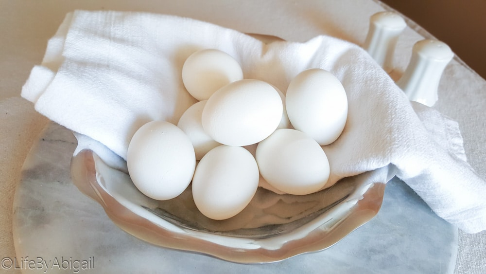 Perfectly Easy Hard Boiled Eggs