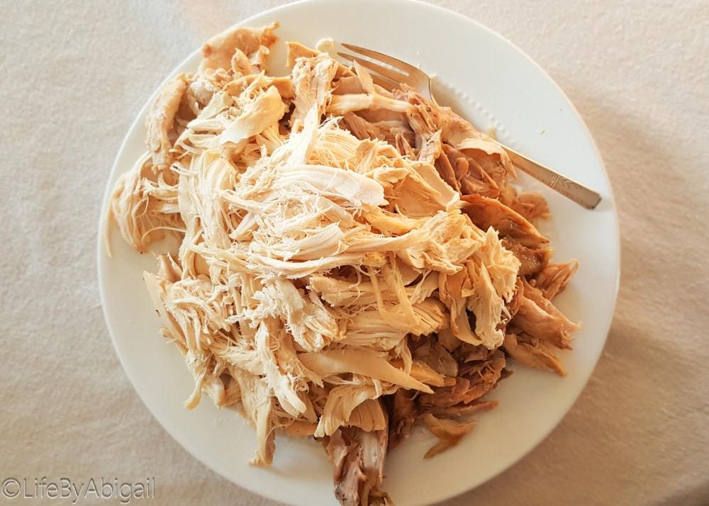 Rotisserie Style Crockpot Chicken