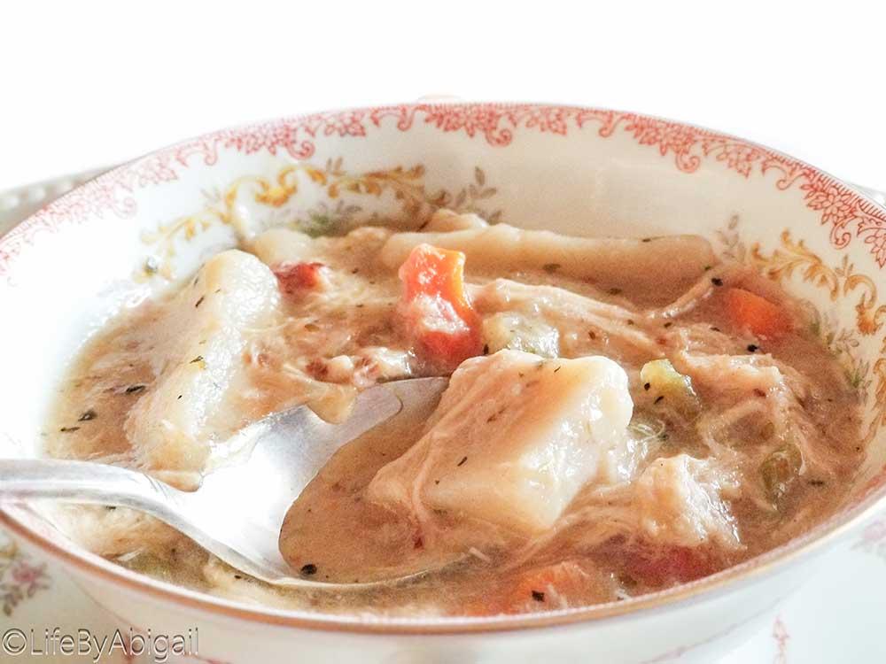 Gluten-Free Chicken & Dumplings