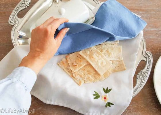 Easy Norwegian Flatbread (Lefse)