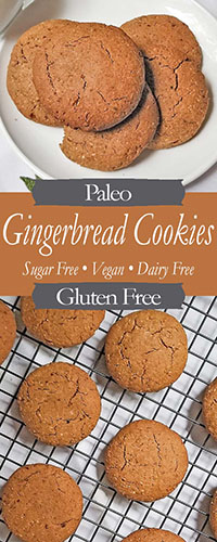 Paleo Gingerbread Pinterest Pin